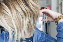 Kinda short blonde