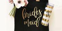 Bridesmaid Gifts / www.elegantgiftgallery.com