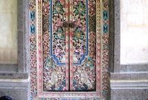 Portes - Doors / by Francis VIGNERON