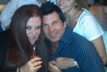 Alexis with Celebs / Alexis working on her celeb clients-