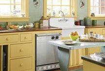 Kitchen Ideas / by Tina Bouman