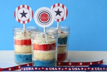 Patriotic Recipes / Independence Day (aka 4th of July), Memorial Day, Flag Day, Veterans Day, Patriot Day etc.