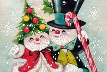 Christmas Graphics 4 (Frosty) / Featuring images of Frosty, the 'Jolly Happy Soul', his wife & kin.