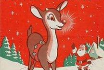 Christmas Graphics 5 (Rudolph) / Images featuring Rudolph, his fellow reindeer sled pullers or deer in general.