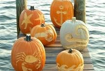 Fall Decor (Coastal) / Decorating ideas for celebrating Fall by the sea.