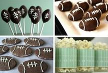 Super Bowl / Fun & Snacks for Game Day