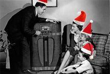 Christmas OTR / Old time radio shows with a Christmas theme.