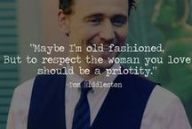 Avengers / And by avengers I really just mean Tom Hiddleston…. / by Leesha Novak