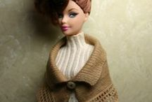 Knits for fashion dolls / Inspiration and patterns for knitting and crochet patterns for fashion dolls and BJDs. / by Layla Jones