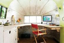 Home - Caravoffice / When we move house I'm going to buy an old caravan and turn it in to an office!