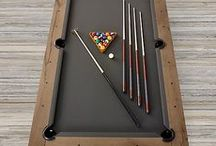 Recreation Game Rooms / Design and decoration concepts for recreation game rooms.