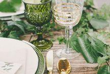 Weddings - tropical botanical greenery