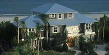 Beach Home Designs / Waterfront House Plans, Coastal Home Plans, Reverse Floor Plans, Beach Homes