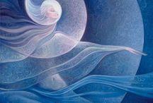 Jumalatar / Divine spirit of nature, wind and elements.