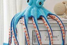 Crochet sea creatures | Meerestiere häkeln