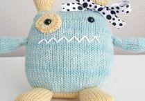 Knitted Toys | Spielzeug stricken