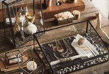 Jewelry display ideas / Jewelry display