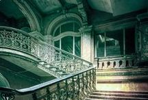 Beautiful abandoned places and architecture