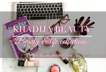 BLOG- khadijabeauty.com / My blog will have reviews on different makeup products, skincare, quick beauty hacks and other interesting things that would be quite affordable to everyone and would help the beginners in positive ways. This blog is mainly to comfort and help out any girl who has a little idea and is just confused about how or from where to get a start for doing makeup maintain a healthy skin.  ALL THE PINS ARE FROM MY BLOG