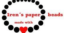 Iren´s paper beads