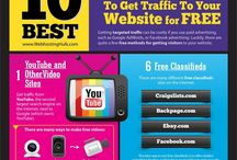 Web Traffic / Tips to get web traffic to your website, blog or online store