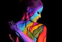 Painted body art ... / Interesting ... / by Eleanor Rawinia Tuhi