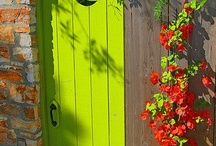 Knock! knock!! ... / Inviting & Enchanting discoveries behind closed doors ...  / by Eleanor Rawinia Tuhi