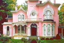 Victorian Houses / People love the detail, charm, history and beauty of Victorian Style Homes.  Here are some beauties. / by Janice Cohen