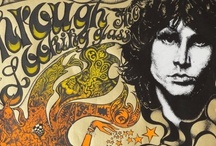"""The Art of Music / LOVE the """"art of rock"""".  I have a large collection of original concert posters from the Fillmore, Family Dog, and other eras/venues.  When my son was young he pointed to a couple of the posters and asked what language it was and I replied, """"Psychedelic"""".  / by Janice Cohen"""