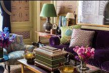 Beautiful Interiors - Alexa Hampton / by Carol Farrow