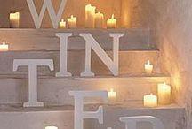 ✿ Winter Inspirations ✿ / #winter #snow #fireplace #cozy #winterwonderland