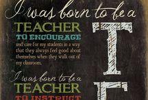 Teacher stuff / by Sara Marie Hill