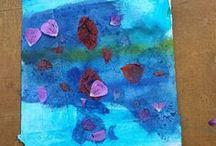 Dipingere con i bambini / Tecniche, idee e articoli che insegnano a dipingere con i bambini