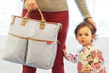 BABY BAG / The all important Mum and Baby bag - no naff 'yummy mummy' types. Stylish baby bags, cool diaper bags and totes, what to pack in your baby bag. Baby bag essentials. Chic changing bags for mums and babies.