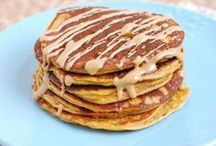 Healthy PANCAKE & WAFFLE Recipes / Delicious and healthy pancake and waffle recipes on Pinterest. Want to join? Follow me http://pinterest.com/jillconyers and fill out the request form here http://jillconyers.com/pin-with-me/