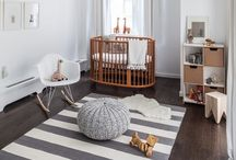 BOYS NURSERY / Stylish Nursery themes, nursery buys and ideas for little boys baby bedrooms. Nursery decor, furniture and inspirations to create a cool first bedroom for a new baby boy. How to style and decorate a baby boys first bedroom or nursery.