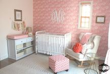 GIRLS NURSERY / Stylish Nursery themes, nursery buys and ideas for little girls baby bedrooms. Nursery decor, furniture and inspirations to create a chic first bedroom for a new baby girl. How to style bad decorate a baby girls first bedroom or nursery.