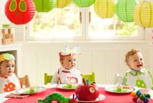 UNISEX BIRTHDAYS / Birthday party ideas for girls and boys, unisex party themes, party food, table settings for gender neutral parties and decor, gifts and party bags for little kids to celebrate their birthday in style. Girls, boys and unisex party theme and ideas. Tips for a stress free kids birthday party. How to those the perfect kids party. Shared birthday parties or for twins. Unisex and gender neutral ideas to suit boys and girls.