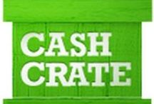 CashCrate / Join CashCrate here http://lix.in/-f14fd7. Watch videos, complete surveys, complete tasks, and daily check-ins to redeem for Amazon and Paypal.  / by ez Swag
