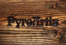 Pyrography by PyroArtis / Art made by burning on wood.