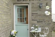 Composite Doors / Quality composite doors and panels.Beautiful contemporary and traditional designs, stylish hardware, energy efficient glazing, tough, durable and highly secure. Available in a combination of internal and external colour options with a choice of coloured contrasting frames.