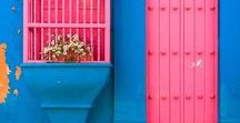 Colour Inspiration / A collection of beautiful photography with amazing colours that I use for inspiration in my work.