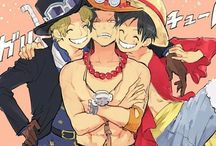 Ace | Sabo | Luffy