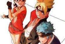 Team Konohamaru / Konohamaru, Boruto, Sarada, Mitsuki