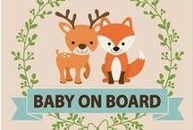 Baby on board / Bébé à bord