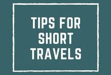 Tips for Short Travels / Share your best travel tips on how to best spend a few days in a destination! - All pins must lead to real articles - 3 pins max per day - Follow me & then message me directly if you would like to be a contributor to this board!