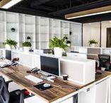 Work Spaces / Design Interiores de espaços de trabalho