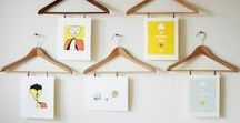 20 creative ideas how to display your pictures / Creative ideas how to hang up your unique photos, pictures, artwork at home.