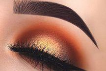 M A K E U P / eye makeup looks, smokey eye, ombre eye.