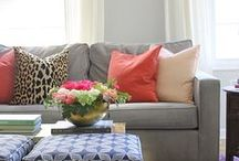 Living Rooms / A collection of gorgeous and relaxing rooms that will invite you to lounge and linger. / by Lindsay - The White Buffalo Styling Co.